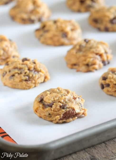 Brown Butter Pumpkin Pecan Chocolate Chip Cookies