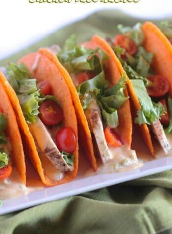 Chicken Nacho Tacos