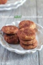 Chocolate Mint Snickerdoodles
