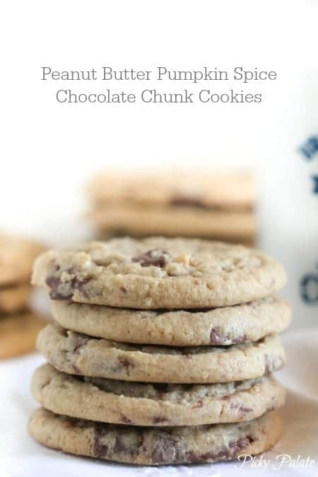 Brown Butter Chocolate Chunk Peanut Butter Cookies - Picky ...