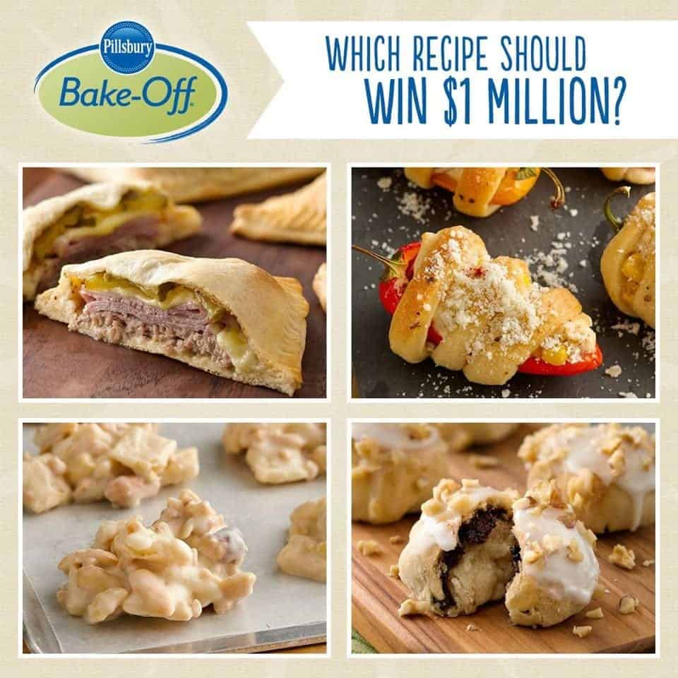pillsbury chat The recipe for success belongs to beth royals of richmond, virginia, who won this year's 47th pillsbury bake-off contest and a $1 million payday.