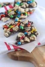 Cookie Dough Chocolate Bark