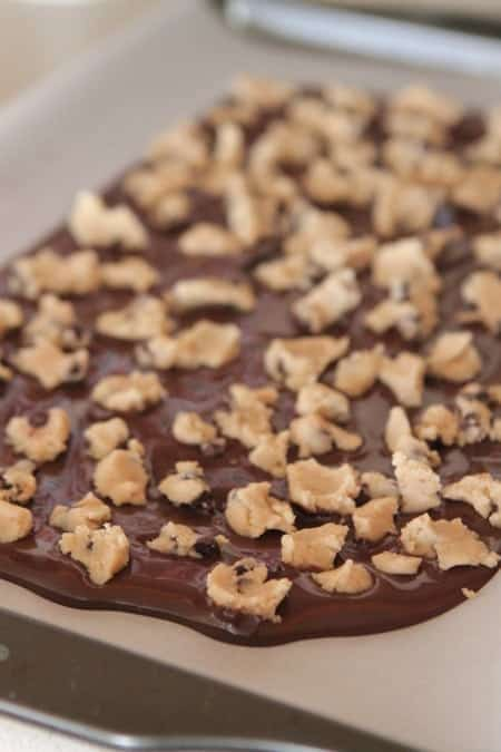 Cookie Dough Chocolate Bark Recipe - Picky Palate