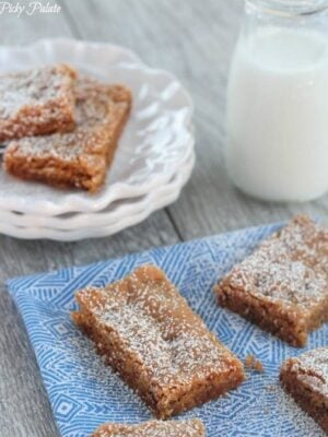 Image of Soft Gingersnap Cake Bars