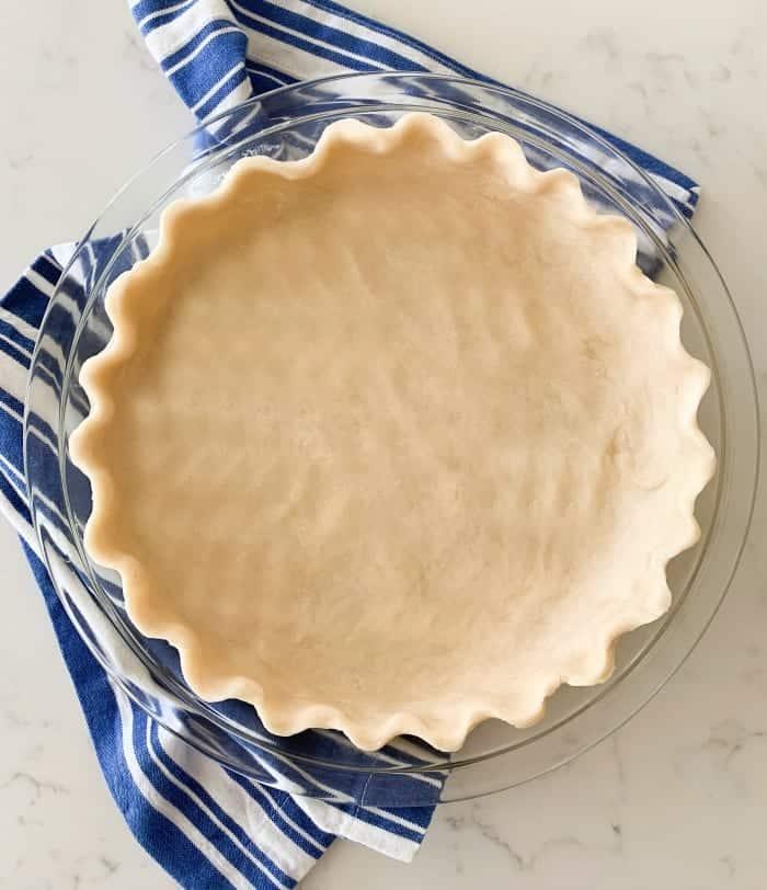 pie crust recipe in pie plate