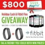 $800 Paypal Cash Plus 2 FitBit Giveaway