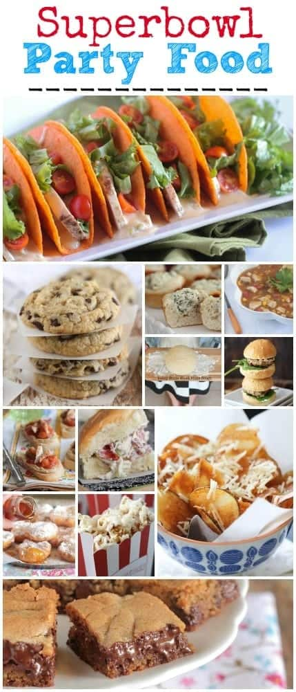 Superbowl Party Food Recipes