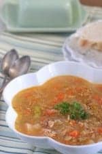 Lemon Chicken Quinoa Vegetable Soup