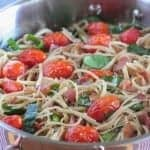 Parmesan BLT Whole Wheat Pasta