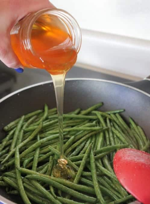 Spicy Sweet Green Beans Recipe