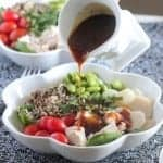 Teriyaki Chicken Quinoa Power Bowl
