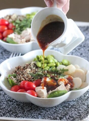 Teriyaki Chicken Quinoa Power Bowl