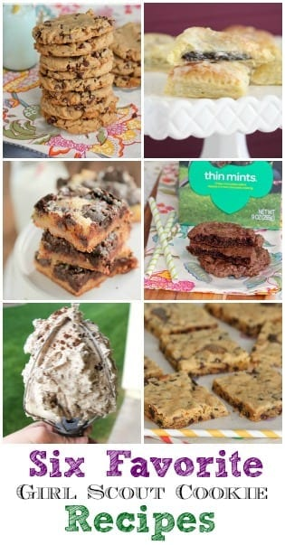 Six Favorite Girl Scout Cookie Recipes