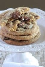 Crispy Brown Butter Chocolate Chip Cookies