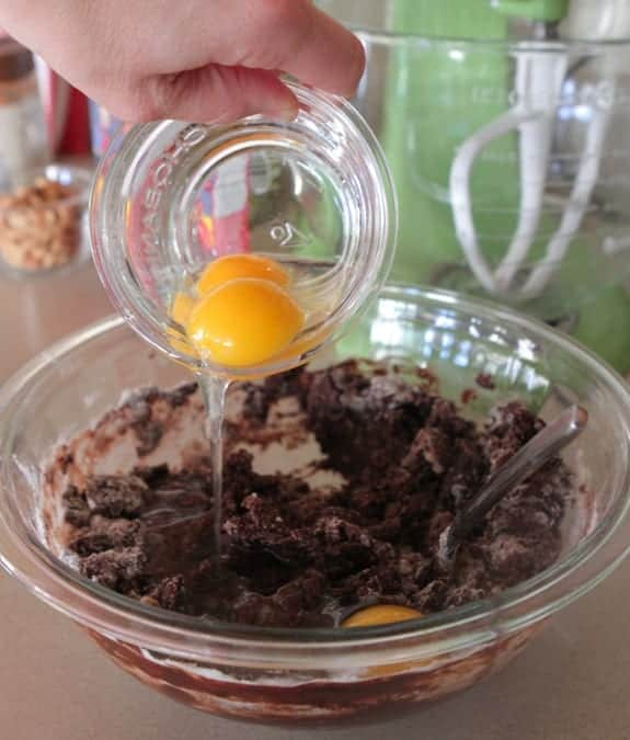 Peanutty Tagalong Brownies