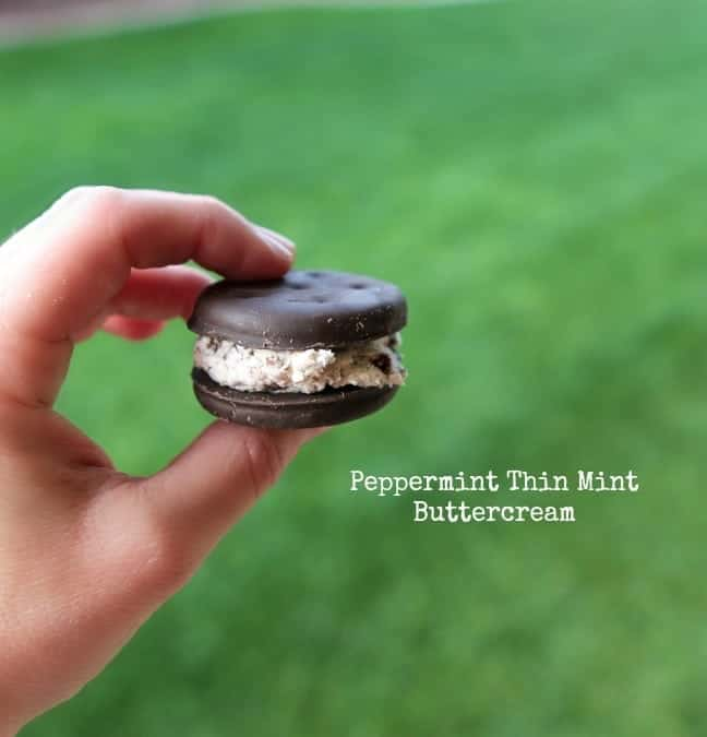 Peppermint Thin Mint Buttercream