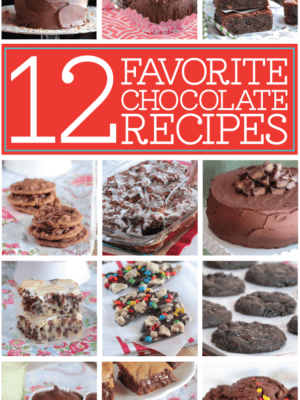 Twelve Favorite Chocolate Recipes