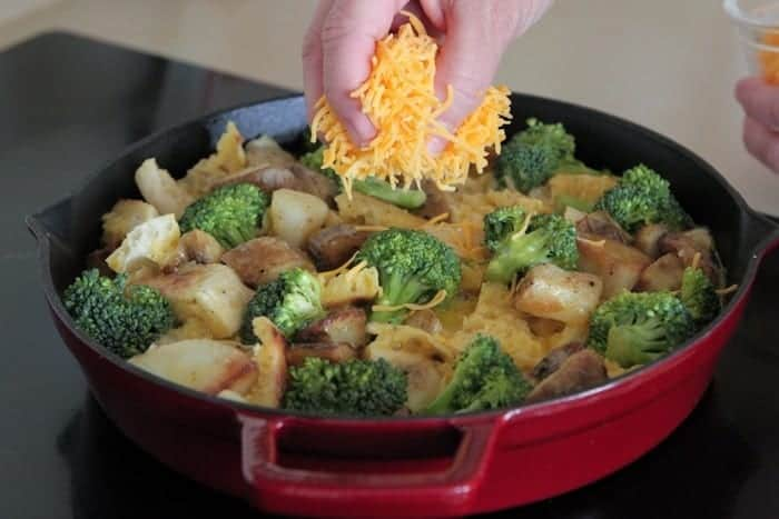 Broccoli Cheddar Breakfast Bake