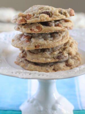 Butterscotch Chocolate Chunk Pudding Cookies