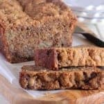 Caramelized Roasted Banana Bread with Oat Streusel Image