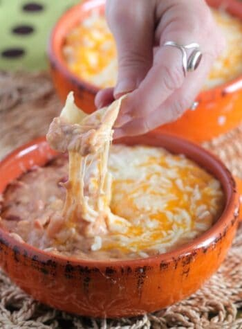 The Ultimate Queso Bean Dip