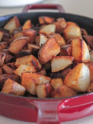 Crispy Pan Fried Potatoes