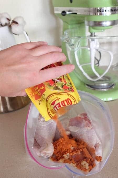 Garlic LIme Taco Grilled Chicken Drumsticks
