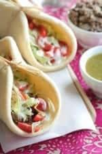 The Best 5 Ingredient Salsa Verde Beef Tacos