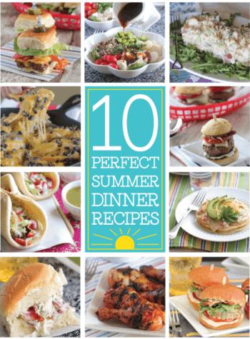 Ten Perfect Summer Dinner Recipes