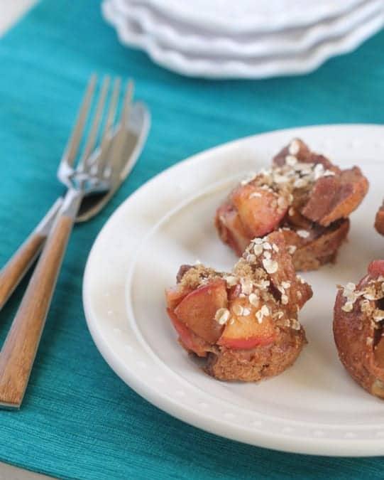 Apple Cinnamon Bagel Bites