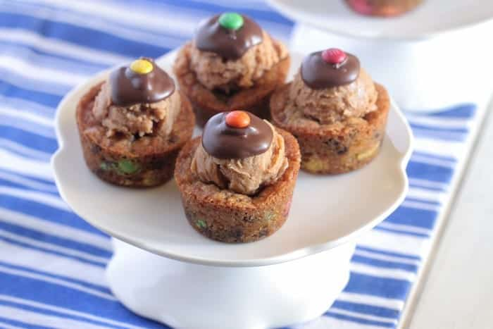 Chocolate Peanut Butter Cookie Cups