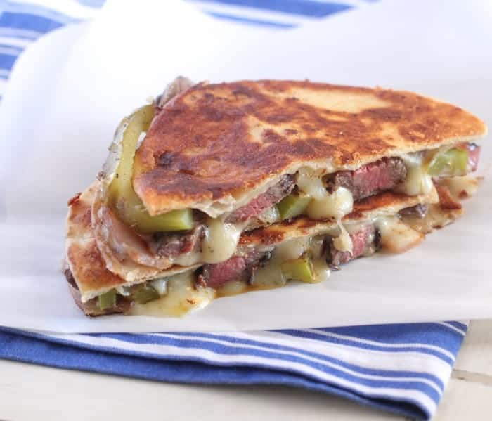 Grilled Steak Fajita Quesadillas