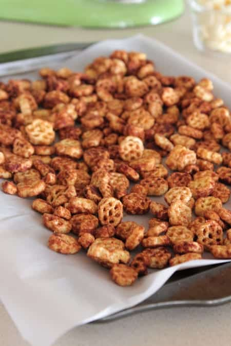 White Chocolate Churro Crunch