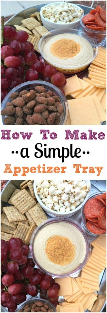 How To Make a Simple Appetizer Tray