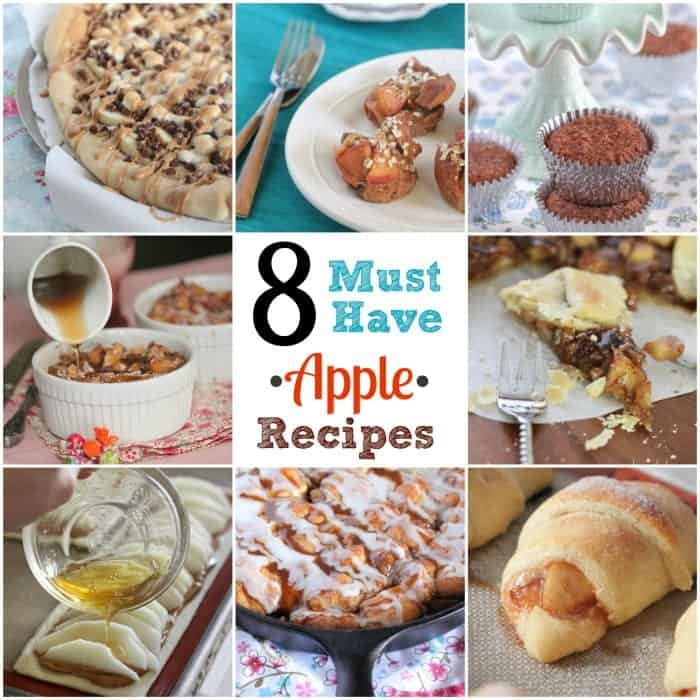 8 Must Have Apple Recipes