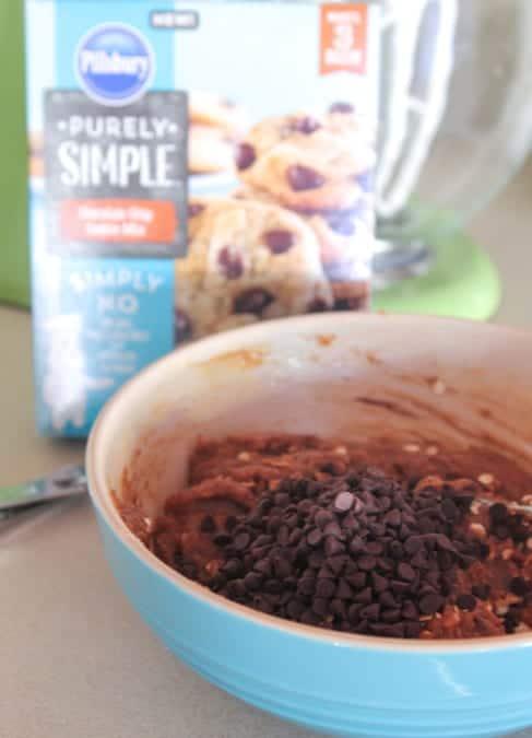 Double Chocolate Chip Pumpkin Oatmeal Cookies