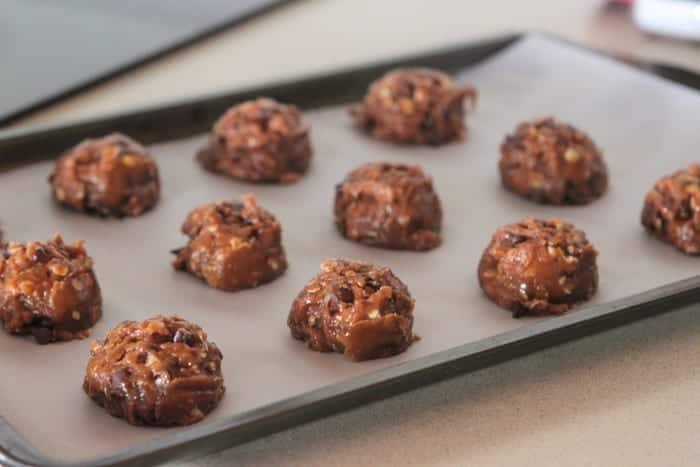 Double Chocolate Chip Pumpkin Oatmeal Cookies