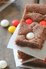 Festive Chocolate Shortbread Bars - Picky Palate