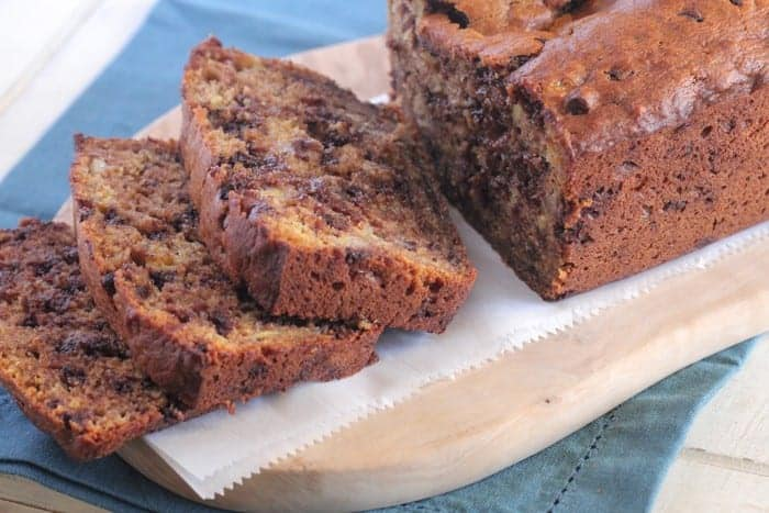 Pumpkin Chocolate Chip Banana Bread