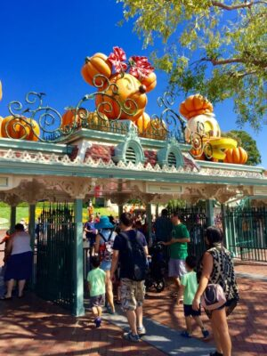 Visiting Disneyland Resort at Halloween