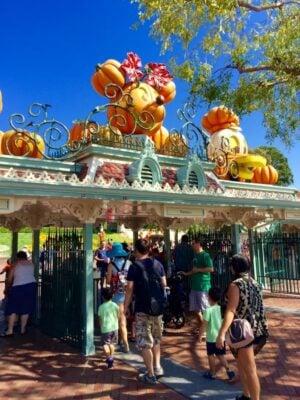 Visiting Disneyland Resort at Halloween