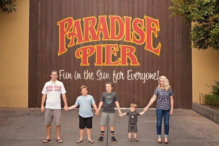 Disneyland Family Photos