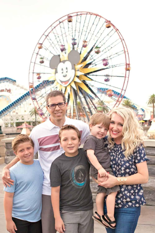 Disneyland Family Photos Disney Dining