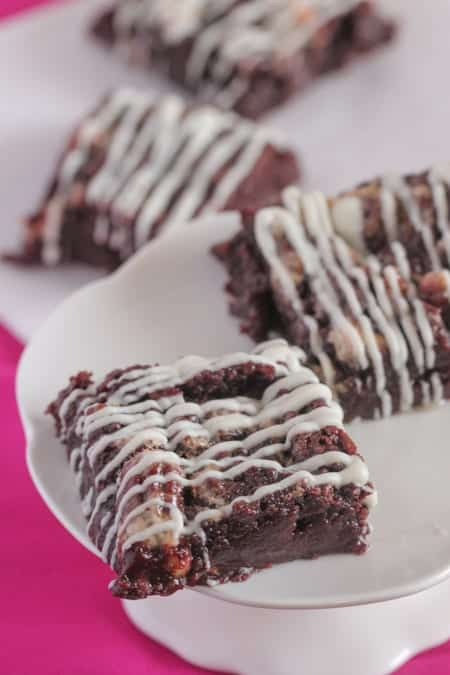 Gooey Caramel Pecan Brownies