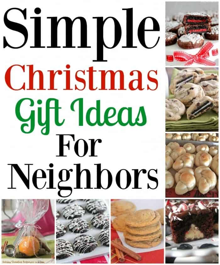 Simple Christmas Gift Ideas for Neighbors