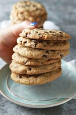 Reese's Peanut Butter Puff Chocolate Chip Cookies