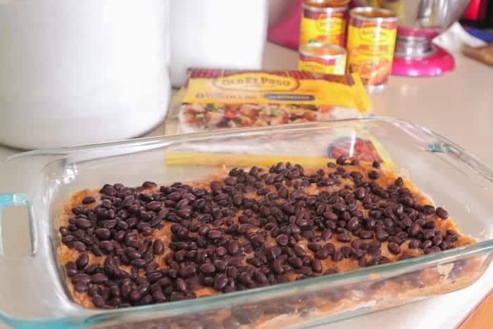 Beef Enchilada Bake