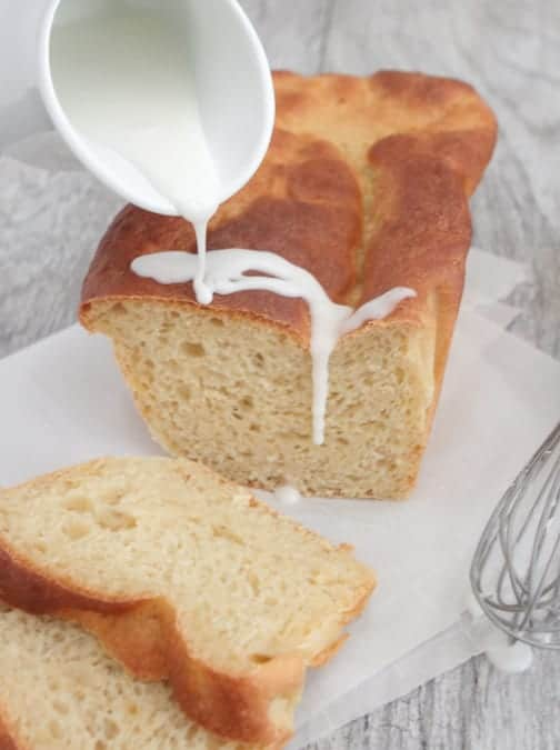 Iced Orange Apple Bread Recipe