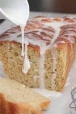 Iced Orange Apple Bread Recipe