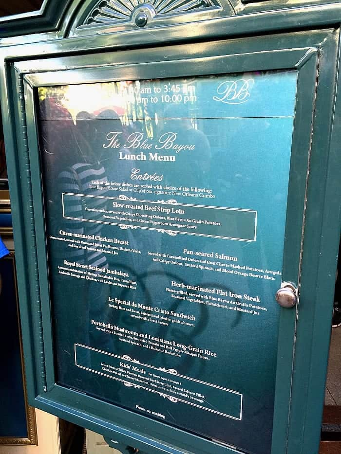 Blue Bayou Restaurant Disneyland